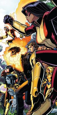 Generation X (Earth-TRN657) from X-Men Blue Vol 1 18 cover 001