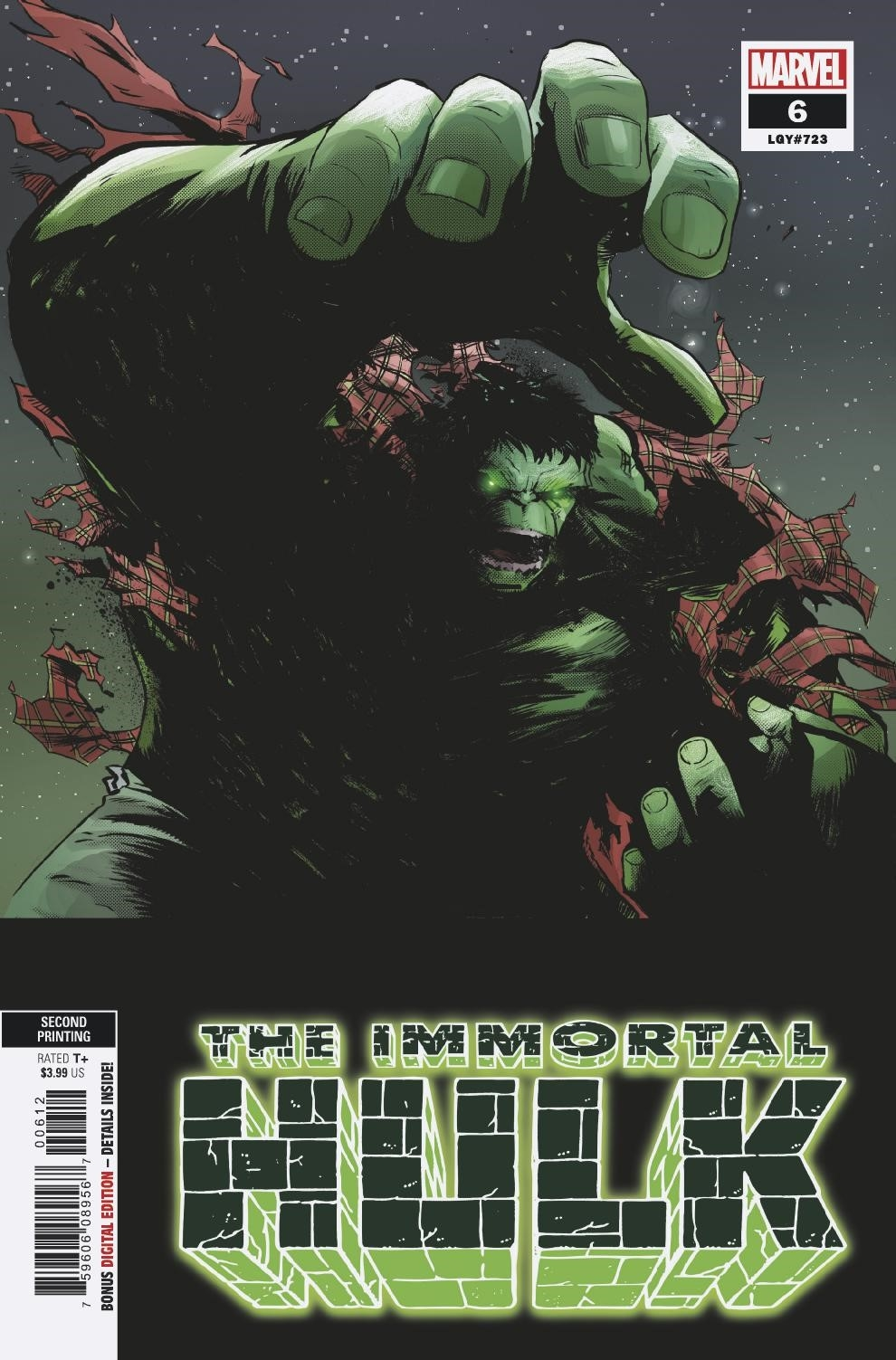 IMMORTAL HULK 3 2018 3rd PRINT VARIANT NM 1st APPEARANCE DR FRYE SOLD OUT