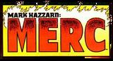 Mark Hazzard Merc Vol 1 Logo