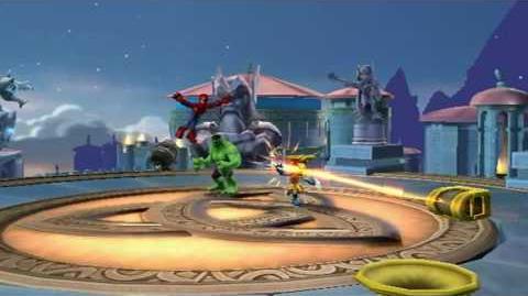 Marvel Super Hero Squad Game Teaser Trailer