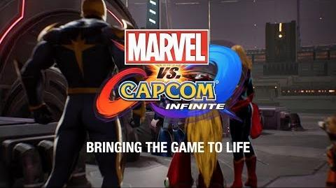 Marvel vs Capcom Infinite BTS - Part 3 - Bringing the Game to Life