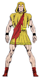 Piper (Savage Land Mutate) (Earth-616) from Official Handbook of the Marvel Universe Master Edition Vol 1 12 0001