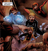 Power Pack (Earth-2149) from Marvel Zombies Vs. Army of Darkness Vol 1 3 0001