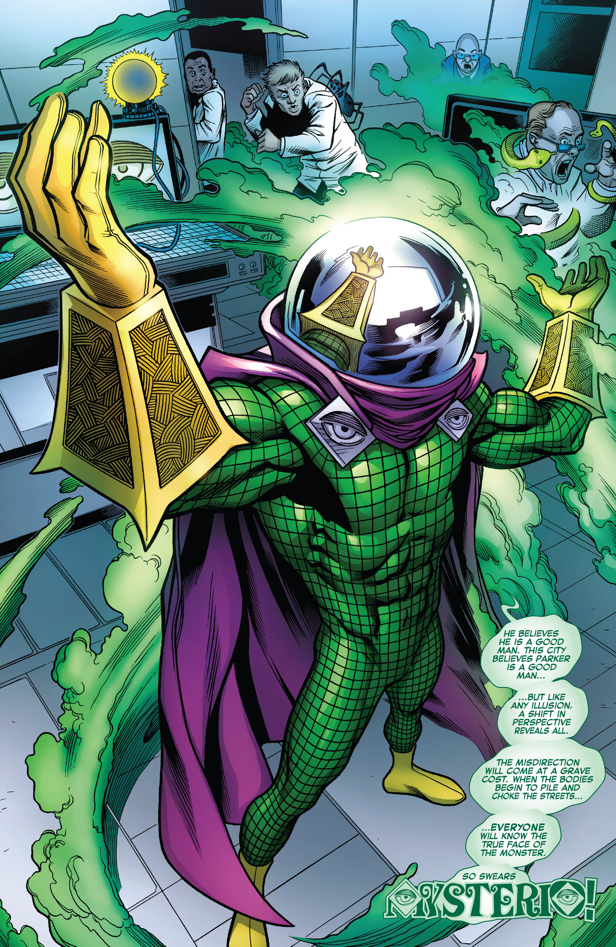 Quentin Beck Earth 616 Marvel Database FANDOM