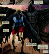 Sophie Cuckoo (Earth-616) Carrion Crow (Earth-616) Chaos War X-Men Vol 1 1