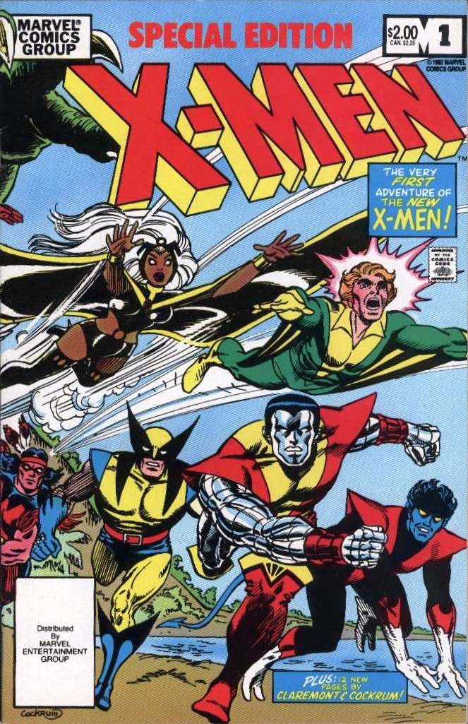 Special Edition X-Men Vol 1 1 Front