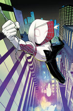 Spider-Gwen Ghost-Spider Vol 1 1 Second Printing Variant Textless