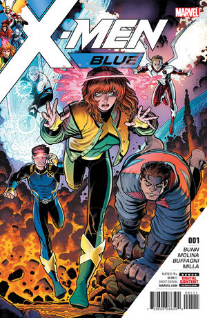 X-Men Blue Vol 1 1