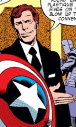 Agent Zimmer (Earth-616) from Captain America Vol 1 250 001