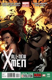 All-New X-Men Vol 1 5 Third Printing