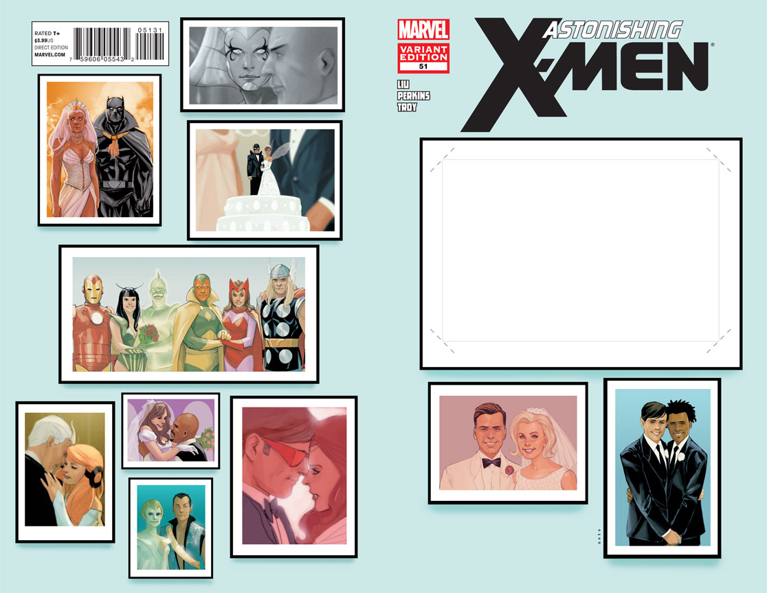 Astonishing X Men Vol 3 51 Create Your Own Wedding Variant Jpg