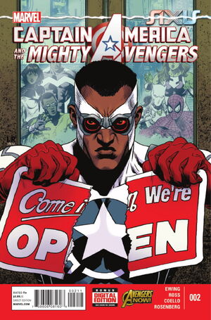 Captain America and the Mighty Avengers Vol 1 2