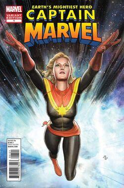 Captain Marvel Vol 7 1 Granov Variant
