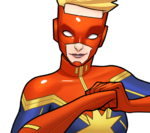 Carol Danvers (Earth-TRN562) from Marvel Avengers Academy 002