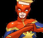 Carol Danvers (Earth-TRN562) from Marvel Avengers Academy 002