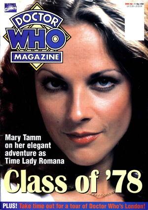 Doctor Who Magazine Vol 1 262