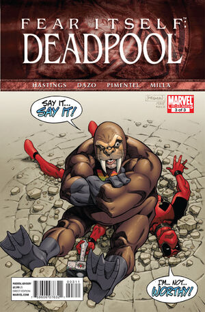 Fear Itself Deadpool Vol 1 3