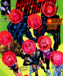 First Line (Earth-616) from Marvel The Lost Generation Vol 1 9 (Cover)