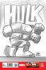 Indestructible Hulk Vol 1 14 LEGO Sketch Variant