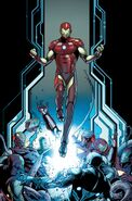 Invincible Iron Man Vol 3 1 Schiti Variant Textless