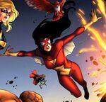 Jessica Drew (Earth-97161) from Avengers v.s. Pet Avengers Vol 1 3 001