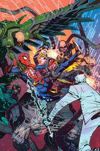 Marvel's Spider-Man City at War Vol 1 4 Petrovich Variant Textless
