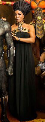 Ramonda (Earth-199999) from Black Panther (film) 001