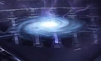 Wormhole from Spider-Man Edge of Time 001