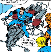 Airjet-Cycle from Fantastic Four Vol 1 45 0001