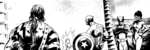 Avengers (Earth-10041) from Indomitable Iron Man (B&W) Vol 1 1 001