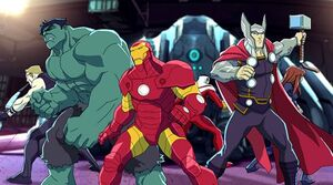 Avengers (Earth-12041) from Marvel's Avengers Assemble Season 1 1 0001