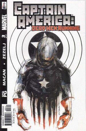Captain America Dead Men Running Vol 1 3