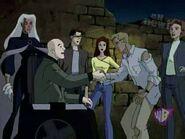 David Haller (Earth-11052), Gabrielle Haller (Earth-11052), and X-Men (Earth-11052) from X-Men Evolution Season 4 4 0001