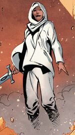 Faiza Hussain (Earth-61112) from Captain Britain and the Mighty Defenders Vol 1 1 001