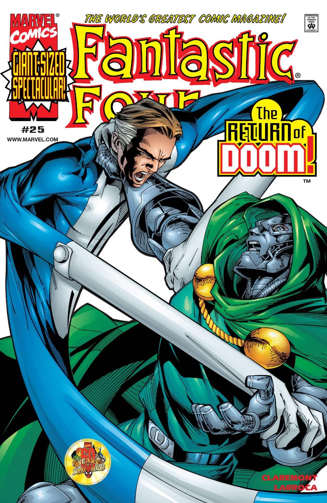 Fantastic Four Vol 3 25
