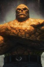 Fantastic Four Vol 6 1 The Thing Variant Textless