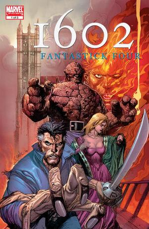 Marvel 1602 Fantastick Four Vol 1 1