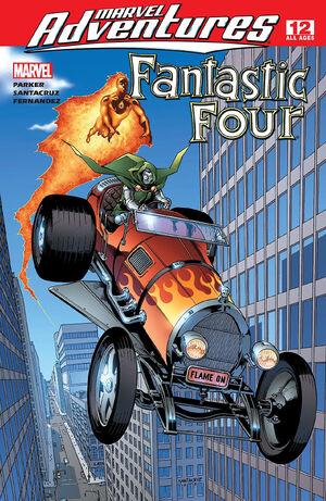 Marvel Adventures Fantastic Four Vol 1 12