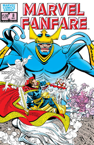 Marvel Fanfare Vol 1 8