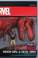 Moon Girl and Devil Dinosaur Vol 1 8 Action Figure Variant