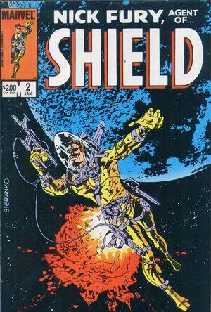 Nick Fury, Agent of S.H.I.E.L.D. Vol 2 2