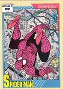 Peter Parker (Earth-616) from Marvel Universe Cards Series II 0001