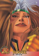 Rogue (Earth-616) from X-Men (Trading Cards) 1996 Set 0001