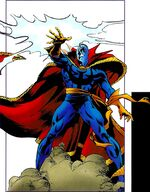 Stephen Strange (Counter-Earth) (Earth-616) from Official Handbook of the Marvel Universe Mystic Arcana The Book of Marvel Magic Vol 1 1 0001
