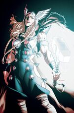 Valkyrie Jane Foster Vol 1 7 Marvels X Variant Textless