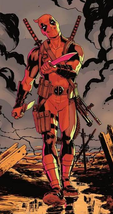 Image result for deadpool comics weapons