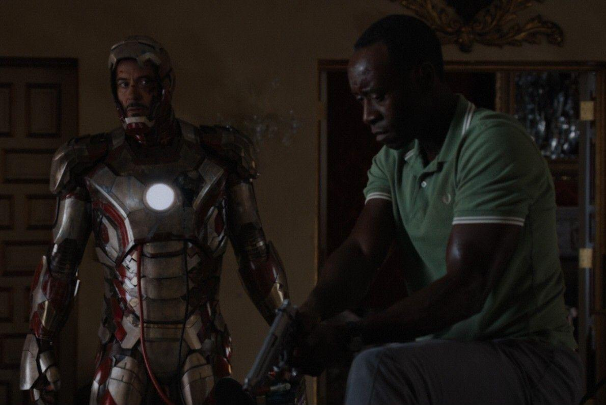 Anthony Stark (Earth-199999) and James Rhodes (Earth-199999) from Iron Man 3 (film) 002