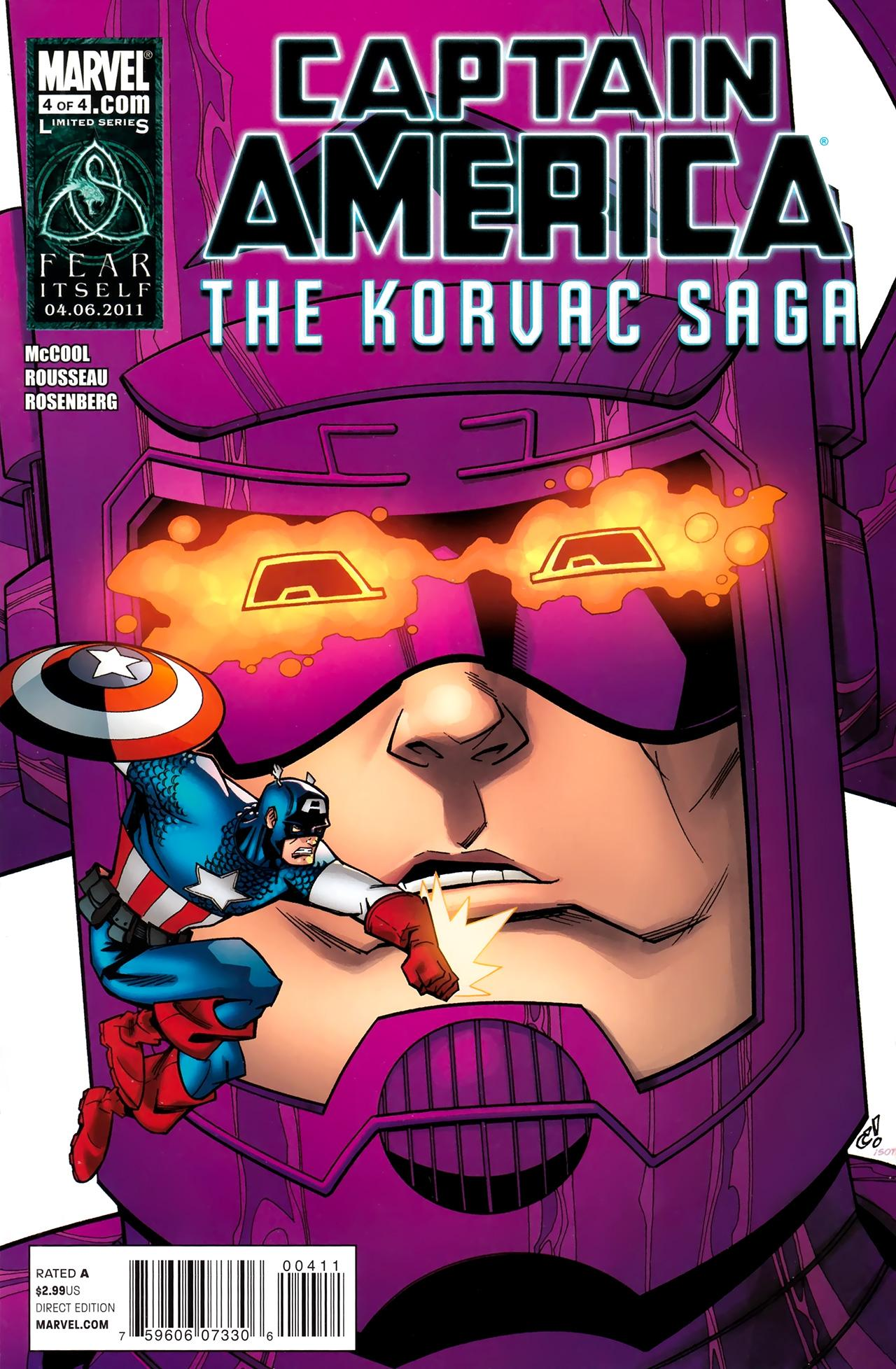 Captain America & the Korvac Saga Vol 1 4