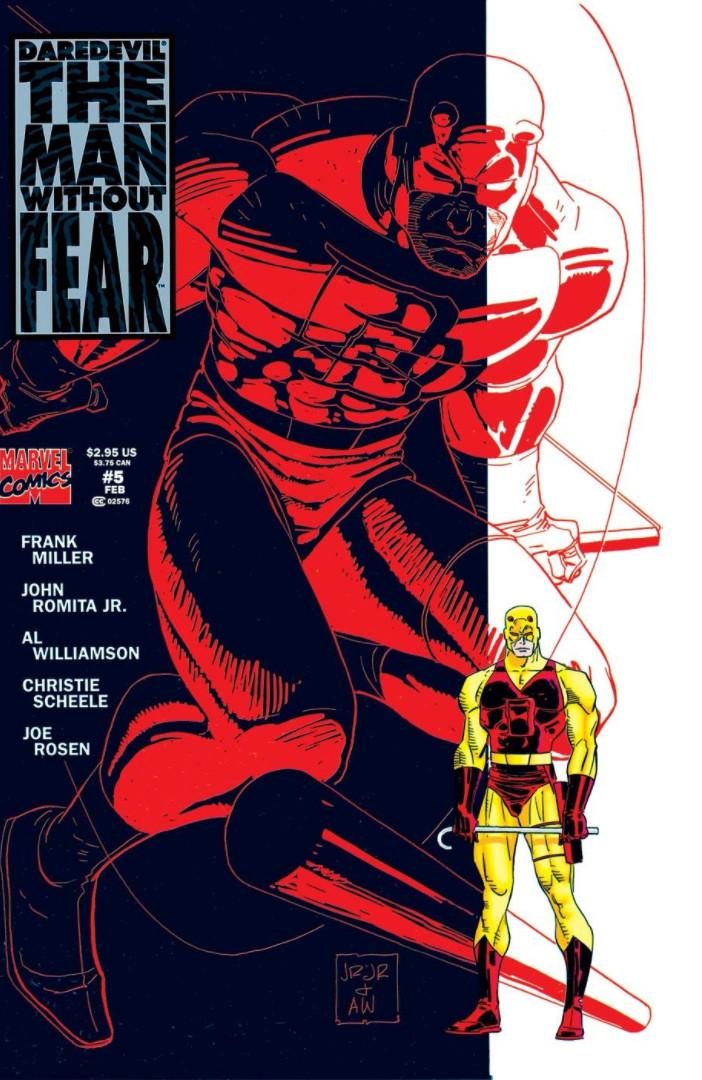 później nowe obrazy naprawdę wygodne Daredevil: The Man Without Fear Vol 1 5 | Marvel Database ...