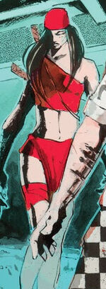 Elektra Natchios (Earth-21919) from Secret Wars Journal Vol 1 2 0001